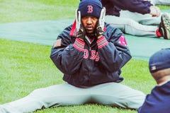 佩德罗马丁内斯,波士顿红袜 免版税图库摄影