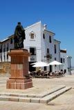 佩德罗Espinosa雕象,安特克拉 免版税库存图片