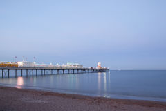 佩恩顿码头,德文郡,英国 图库摄影