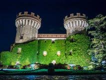 佩拉拉达城堡 库存图片
