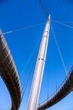 佩斯卡拉:海桥梁 免版税库存照片