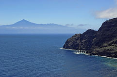 佩斯坎特de埃尔米瓜,戈梅拉岛海岛,西班牙 库存图片