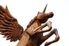 佩格瑟斯独角兽 免版税库存照片