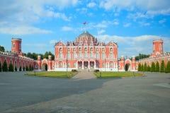 佩特洛夫宫殿 莫斯科 俄国 免版税库存照片