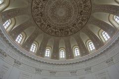 佩特洛夫宫殿的内部,莫斯科,俄罗斯 图库摄影