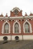 佩特洛夫宫殿的门面,莫斯科,俄罗斯 免版税库存照片