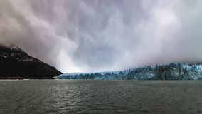 佩里托莫雷诺冰川的秀丽 库存照片