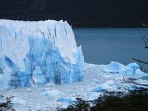 佩里托莫雷诺冰川视图 库存照片