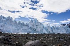 佩里托莫雷诺冰川,埃尔卡拉法特,阿根廷 图库摄影