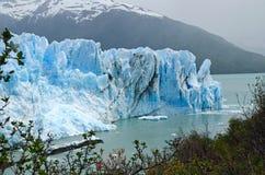 佩里托莫雷诺冰川,巴塔哥尼亚,阿根廷 库存图片