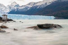 佩里托莫雷诺冰川,巴塔哥尼亚-阿根廷 库存照片
