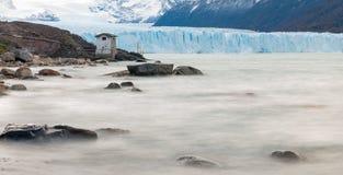 佩里托莫雷诺冰川,巴塔哥尼亚-阿根廷 免版税图库摄影