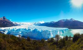 佩里托莫雷诺冰川1 免版税图库摄影
