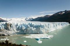 佩里托莫雷诺冰川-埃尔卡拉法特-阿根廷 图库摄影