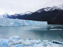 佩里托莫雷诺冰川- El Cafalate,阿根廷 库存照片