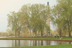 佩里纪念碑 免版税图库摄影