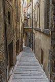 佩鲁贾,意大利美妙的奥尔德敦  图库摄影