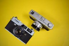 佳能照相机 免版税图库摄影