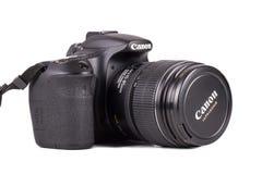 佳能60D照相机 免版税库存照片