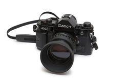 佳能A 1照相机 免版税库存图片