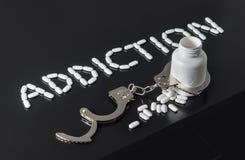 使上瘾对药物 免版税库存图片