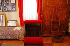 使享福的主要Alojzije Stepinac, Krasic圣所,克罗地亚, 6 免版税库存图片