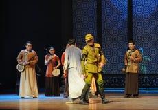 使人产生敬畏心的舞蹈过去的戏曲沙湾事件正义这第三次行动  库存图片