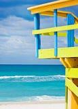 使佛罗里达迈阿密靠岸 库存照片