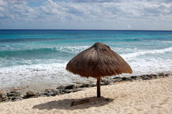 使加勒比靠岸 免版税库存照片