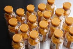 使可注射服麻醉剂 免版税图库摄影