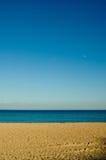 使含沙靠岸 免版税库存图片
