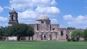 使命圣何塞在圣安东尼奥, TX 库存照片