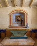 使命圣安东尼奥de帕多瓦寺庙 免版税库存图片