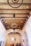 使命圣路易斯-奥比斯保de托洛萨加利福尼亚大教堂 库存照片