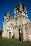 使命康塞普西翁角在圣安东尼奥得克萨斯 免版税库存照片