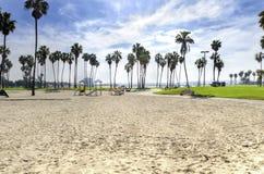 使命海湾,圣地亚哥,加利福尼亚 免版税库存照片