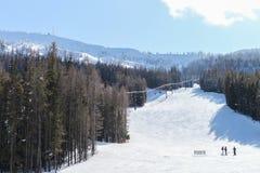 使命里奇滑雪和委员会手段小山 库存照片