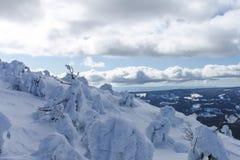 从使命里奇滑雪和委员会手段的看法 库存图片