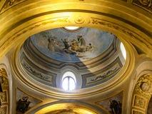 使命Estancia Jesuitica著名教会在Altagracia,银 库存照片