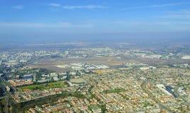 使命Hills,圣地亚哥鸟瞰图  库存图片
