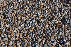 使小hastings的小卵石靠岸 免版税库存照片