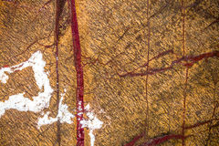 使有大理石花纹在温暖不同的颜色,设置与三十三张照片 免版税图库摄影