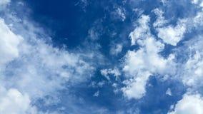 使有大理石花纹的天空 库存图片
