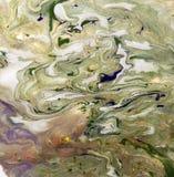 使有大理石花纹的抽象背景 液体大理石样式 五颜六色的大理石背景 免版税库存图片