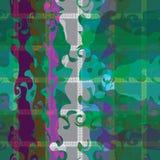 使有大理石花纹的纹理的抽象无缝的样式例证 向量例证