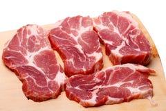 使有大理石花纹的肉 免版税库存图片