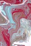 使有大理石花纹 背景可能使使用的纹理有大理石花纹 绘飞溅 五颜六色的流体 抽象背景上色了 光栅例证 五颜六色的抽象painti 库存图片