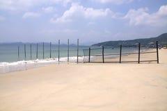 使海边环境美化 库存图片
