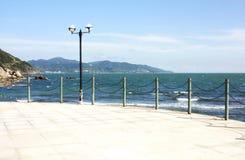使海边环境美化 库存照片
