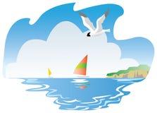 使海运环境美化 库存图片